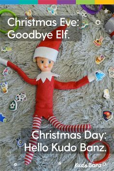 #1 Elf Idea: A parenting toy that keeps up the good behavior all year-round.