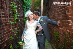 wedding photography rock and roll bride