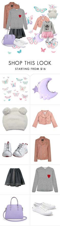 """""""Mother and Daughter Outfits IV"""" by velvy ❤ liked on Polyvore featuring Brewster Home Fashions, Theory, Alaïa, Chinti and Parker, Kate Spade and Lacoste"""