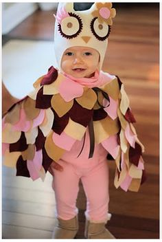 10 adorable DIY Halloween costumes for toddlers! Looking for the perfect Halloween costume for your toddler? I have rounded-up 10 adorable DIY Halloween costumes for toddlers! Toddler Costumes, Cute Costumes, Baby Costumes, Costume Halloween, Halloween Diy, Costume Ideas, Owl Costume Kids, Halloween Costumes For Toddlers, Baby Parrot Costume