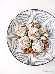 "Haselnuss Crinkle Cookies mit ""Schuss"""