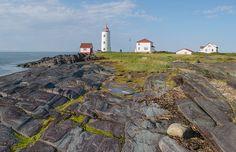 Le phare de l'île Verte Bas Saint Laurent, Destinations, Canada, Nature, Outdoor, Lighthouse, Green, Switzerland, Outdoors