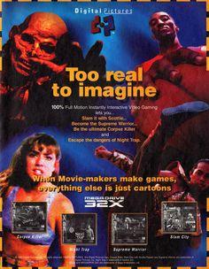FMV Sega 32X games ad