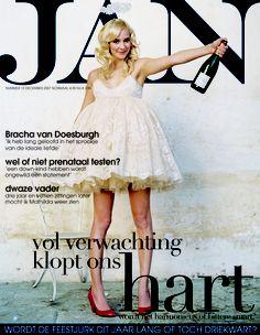 Bracha van Doesburgh | Cover JAN Magazine 12-2007