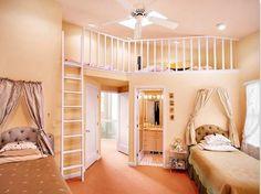 Fesselnd Kinderzimmer Komplett Beige Farben Ankleidezimmer Zweiter Stock Ventilator