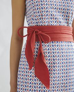 We've always loved the obi. It adds a nice touch of tailoring while defining the silhouette and bringing an extra layer of color, pattern, and texture to any look. Once you own one, you'll wonder how you lived without it. Wrap it in the traditional obi style or tie it in a bow – experimenting is half the fun.