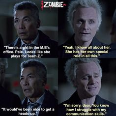 "#iZombie 1x08 ""Dead Air"" - Lieutenant and Blaine"