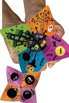 Creative Teaching Press CTP1549 Happy Halloween Cootie Catcher