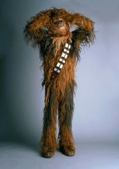 ~ May) Peter Mayhew in Star Wars: Episode IV - A New Hope Han Star Wars, Star Wars Art, Star Trek, Peter Mayhew, Star Wars Characters, Star Wars Episodes, Movie Characters, Chewbacca Costume, Cuadros Star Wars