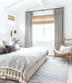 pinterest curtains bedroom this serene bedroom by amber interiors is recreated for less by living for pinterest white bedroom curtains