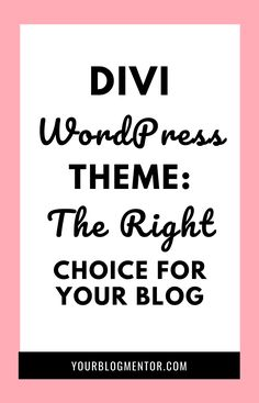 Discover why Divi is the best and most popular WordPress theme for bloggers and why you should use it.  #divi #wordpress #theme #bloggers Business Marketing, Business Tips, Internet Marketing, Online Marketing, Online Business, About Me Page, Website Layout, Online Entrepreneur, Affiliate Marketing