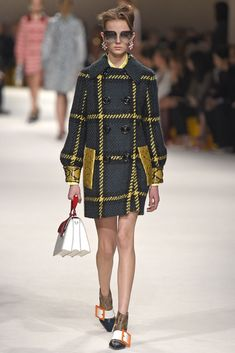 Miu Miu RTW Fall 2015 gorgeous coat