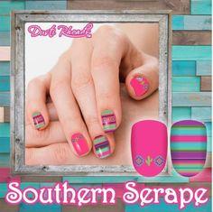 Turquoise Nail Polish, Brown Nail Polish, Brown Nails, Nail Polish Strips, Western Nails, Country Nails, Turquoise And Purple, Accent Nails, Nail Stickers