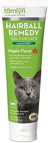 Laxatone Hairball Remedy Tomlyn Gel for Cats, Maple Flavor oz * Continue to the product at the image link. (This is an affiliate link and I receive a commission for the sales) Nursing Supplies, Cat Supplies, Cat Vitamins, Cat Id Tags, Cat Training Pads, Cat Shedding, Cat Care Tips, Cat Fleas