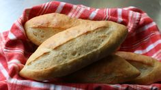 GREAT INSTRUCTION ON SHAPING THE ROLLS - How to Make Sandwich Rolls - Easy French Rolls Recipe