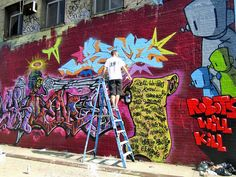 Skeme Reme Chris RWK graffiti and street art Bronx Boone Avenue Refashioned    Part I: Marthalicia Matarrita, Cern, Lady K. Fever, Cope2, UR...