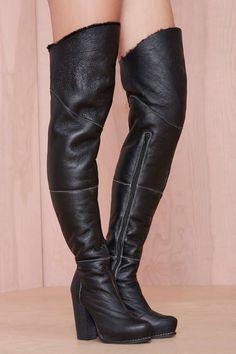 Jeffrey Campbell Buckman Leather Boot