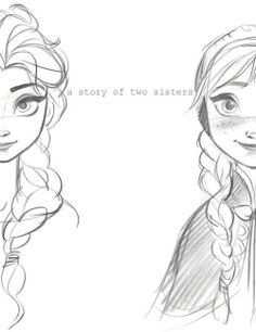 Elsa and Ana the two most inspirational  sisters , and princes and queen ever!