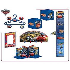 Cars Lightning McQueen 10-Piece Room Decor In A Box- Disney