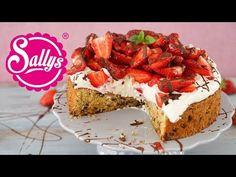 Cookie - Torte mit Erdbeer - Topping / einfach & genial - YouTube