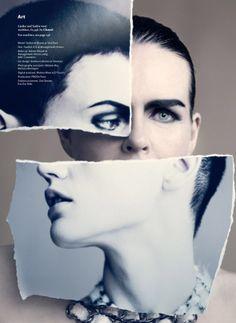Paolo Roversi - Saskia de Brauw For Wallpaper's September Issue | Trendland: Design Blog & Trend Magazine