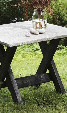 Tee betonipöytä pihalle   Meillä kotona