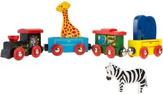 Magnetic Train Toy Wooden Animal Learning Train Set with 4 Trains 3 Wooden Animals for Boys and Girls Toddlers by Hey! Wooden Animals, Wooden Toys, Toddler Toys, Toddler Girl, Toddler Learning, Kids Toys, Magnetic Toys, Wooden Train, Train Layouts
