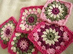 crochet - nice colours!