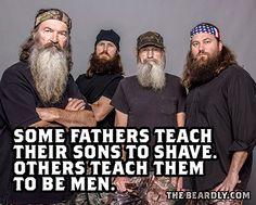 BEARDS. Duck Dynasty...the beards!