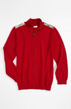 Burberry Shoulder Patch Sweater (Big Boys)   Nordstrom