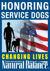 September is National Service Dog Month at Petco. Please Re-pin! http://www.naturalbalanceinc.com/national-service-dog-month.aspx#