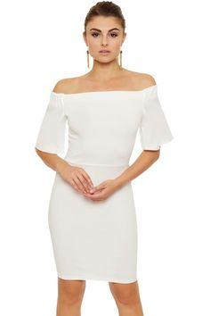 Keren Off Shoulder Mini Dress | WearAll