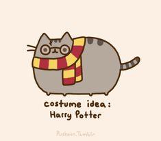 Pusheen: Costume Ideas: Harry Potter