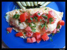 Tomek gotuje: Omlet z pomidorem / Tom cooks: Tomato omelette