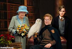 Prince Harry as Harry Potter