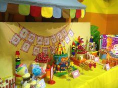 Circus theme Candy Buffet. Circus Birthday, Circus Theme, Birthday Cake, Candy Buffet, Event Styling, Birthday Cakes, Cake Birthday, Candy Boxes