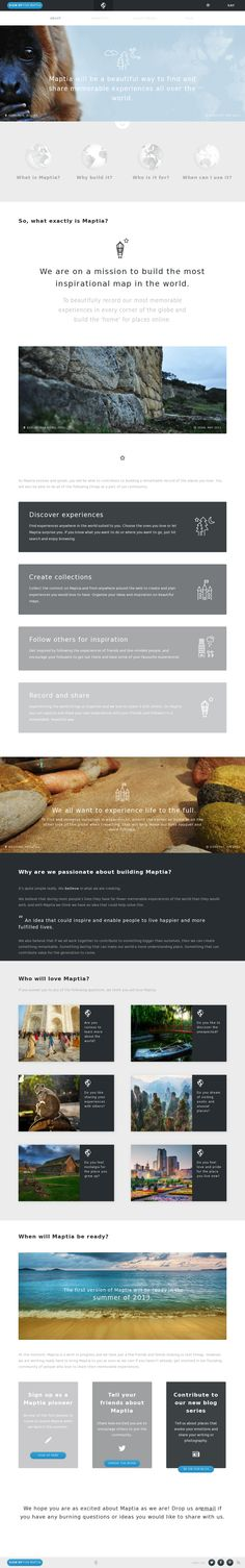 typography clean responsive scroll css3