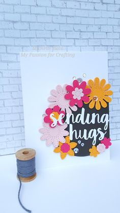 My Passion for Crafting: Sending hugs