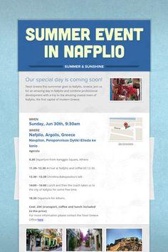Summer Event in Nafplio