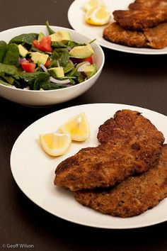 Dreaming of Winter: Delicious Wiener Schnitzel