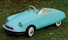 really cool pedal cars