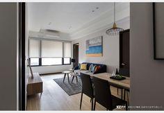俐落輕美式_美式風設計個案—100裝潢網 Conference Room, Table, Furniture, Home Decor, Room Decor, Home Interior Design, Desk, Tabletop, Desks