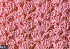 Patrón #1008: Punto Tupido a Crochet   CTejidas [Crochet y Dos Agujas]
