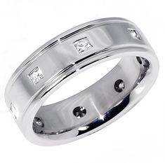 1/2 Carat Diamond Wedding Band Eternity