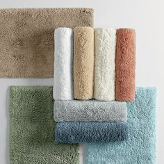 Legends® Supreme Bath Rug - Exceptionally plush and soft underfoot, our Legends Supreme bath rug is woven of fine combed Egyptian cotton for the ultimate in opulence.