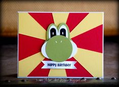 Yoshi Punch Art by girl3boys0 - Cards and Paper Crafts at Splitcoaststampers