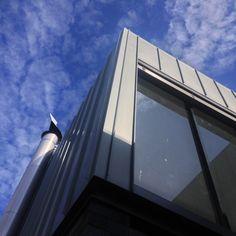 Rheinzinc standing seams at Queens Park by POC+P architects