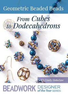 You'll love this if: You want to explore beaded bead designs from Cindy Holsclaw You are inspired to create jewelry from geometrical shapes Create delightful beaded beads in pleasing symmetrical shapes! Bead artist and sci Beaded Jewelry Patterns, Geometric Jewelry, Beading Patterns, Seed Bead Necklace, Seed Bead Jewelry, Beading Jewelry, Diy Jewellery, Beading Techniques, Beading Tutorials