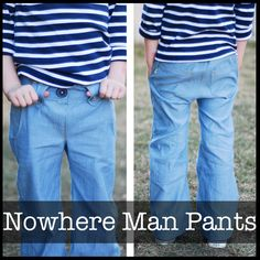 Nowhere Man Pants 12m-10years | ShwinDesigns