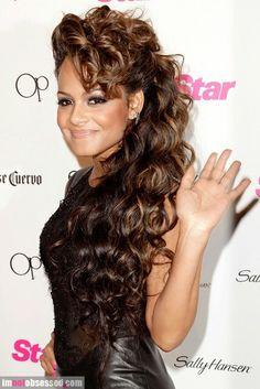 Christina milian hair